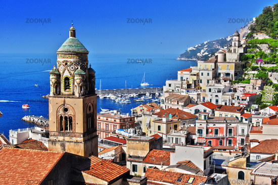 Amalfi in the province of Salerno