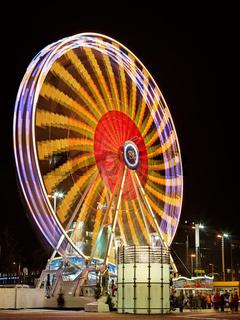 Riesenrad auf dem Leipziger Weihnachtsmarkt