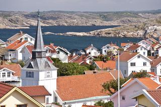 Gullholmen in Schweden