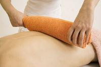 Massage Heisse Rolle