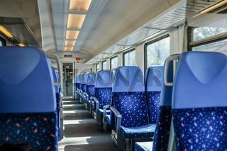 Unterwegs mit einem Intercity in der Slowakei
