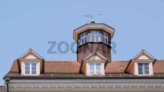 Sehenswerte Dachgauben, Marktstätte Konstanz, 'Haus zum goldenen Adler '