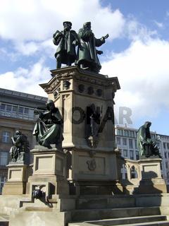 Gutenberg-Denkmal in Frankfurt