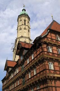 Braunschweig - Alte Waage und Kirche St. Andreas