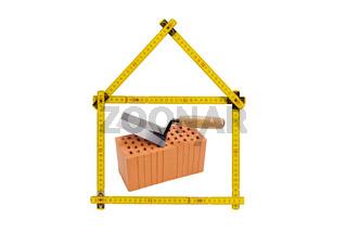 Logo für Hausbau und Baubranche