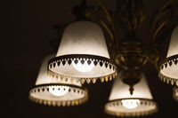 light lamp of retro lampshade