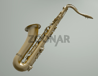 Saxophone - 3d illustration
