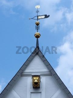 Giebel des alten Rathauses zu Celle