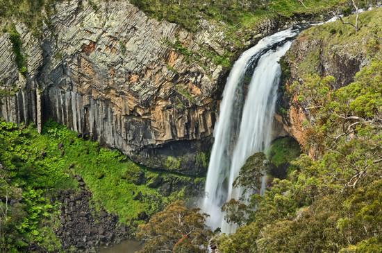 ebor river waterfall
