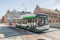 Skoda / Solaris-Trolleybus in Plzen