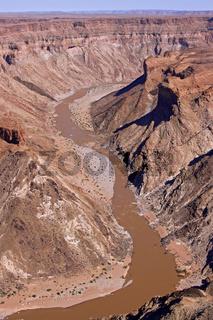 Fish River Canyon in Namibia, größter Canyon Afrikas