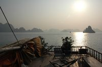 Inseln in der Bucht von Ha Long