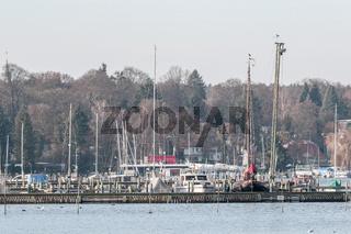 Yachthafen am Wannsee
