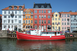 Nyhavn Historic Harbor Copenhagen