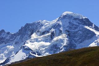 Nordwand des Breithorn, Zermatt, Schweiz