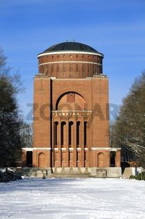 Das Hamburger Planetarium im Winter