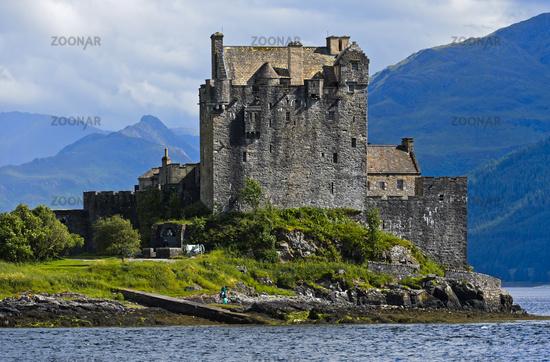 Schloss Eilean Donan, Schottland, Grossbritannien