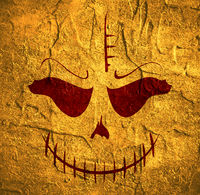 Skull with Evil Laugh