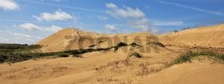 Rubjerg Knude, unique sand dune in Jylland, Denmark.