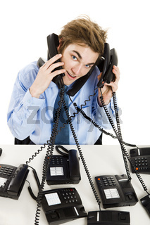 Answering multiple calls at the same time
