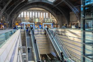 Leipzig Hbf - Zugang zum Tiefbahnhof