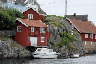 kleiner hafen in schweden