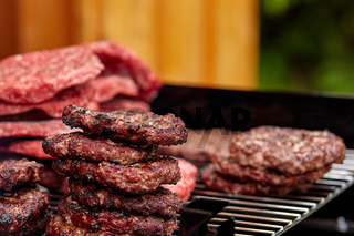 Hamburger Patties, lecker gegrillt