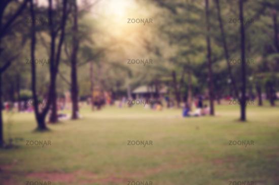 Blur Vintage Park