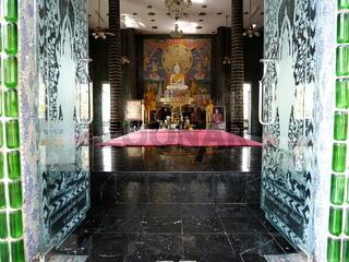 'Bierflaschentempel' Wat Lan Kuat,Thailand