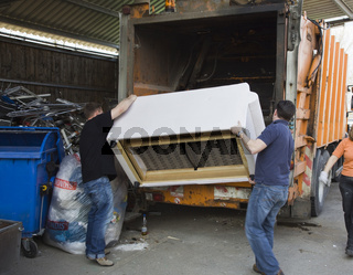 Wertstoffhof der Gemeinde Oberhaching   Recycling in Oberhaching near Munich 