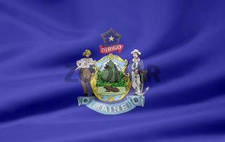 Flagge von Maine - USA