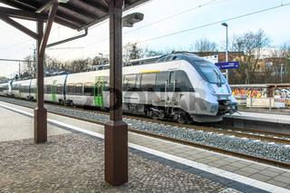 S-Bahn Mitteldeutschland in Leipzig
