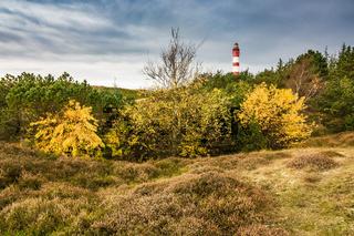 Leuchtturm in Wittdün auf der Insel Amrum
