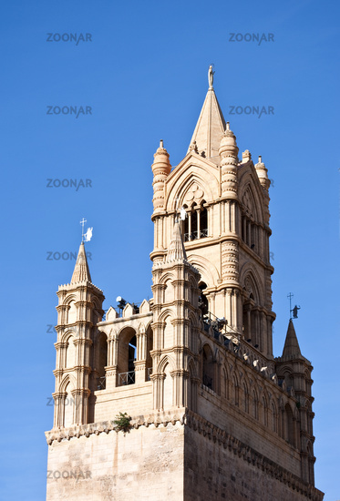 beautiful cathedral of Palermo