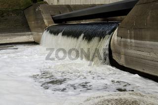 Emscher Mündung - outfall of river Emscher