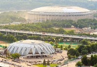 Reconstruction of Luzhniki Stadium for soccer world cup 2018, Moscow