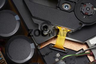 electronics closeup