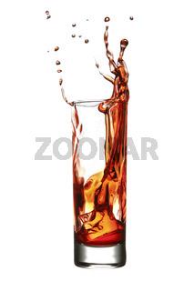 splash in a glass