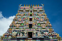 Hindu Tempel auf Mahe Seychellen