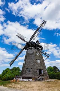 Die Windmühle in Benz auf der Insel Usedom