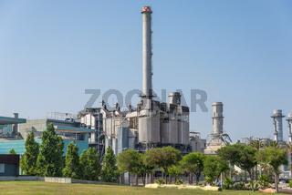 Waste incineration plant in San Adria de Besos