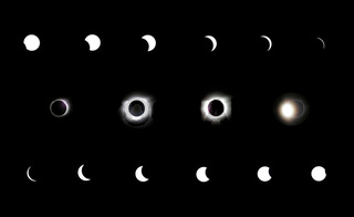 Sonnenfinsternis - solar eclipse