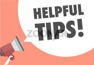Megaphone Helpful Tips