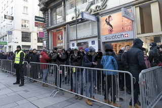 Eröffnung Apple Store in Wien