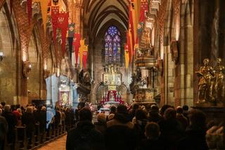 Festgottesdienst im Dom von Breslau