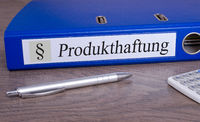Produkthaftung Ordner im Büro