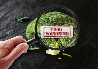 Food Poisoning label