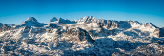 Glacier of mount Dachstein in Upper Austria