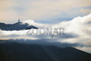 Gipfel des Mont Ventoux, Provence, France