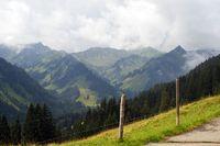 Alpen bei Mittelberg, Alps in Mittelberg
